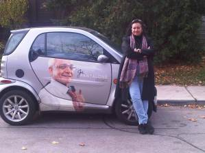 Me and the Smart Car