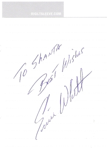 Ernie Whitt's Autograph
