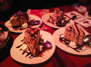 The Lindt Chocolate Ice Cream Cake x4