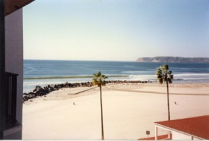 The Hotel Del Coranado in San Diego, CA, 1988