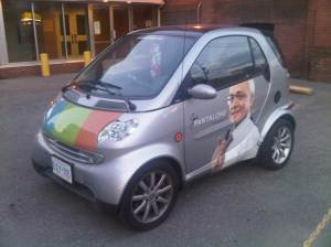 The Joe Pantalone Smart Car