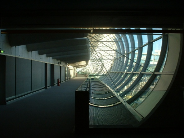 CDG Airport in Paris, France