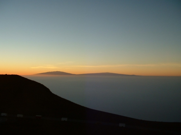 Morning at Haleakala