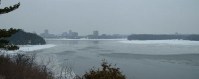 View of the Ottawa River