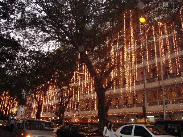 Lights in Mumbai