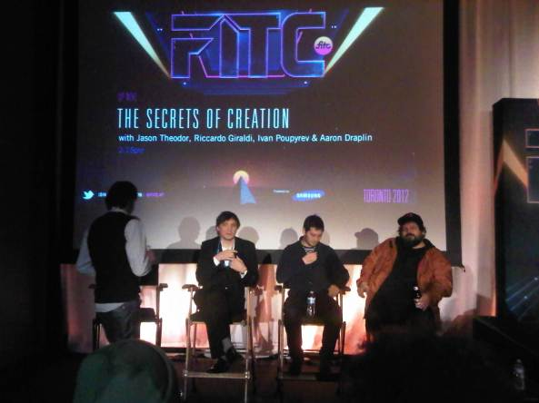 Panel on The Secrets of Creation at FITC