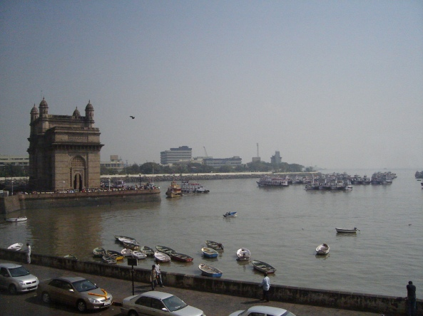 Taken outside the Taj Palace Hotel in Mumbai 2006