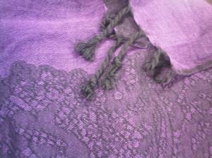 My Purple Pashmina