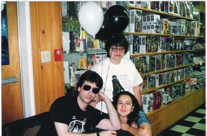 Me, Ann and Neil Gaiman