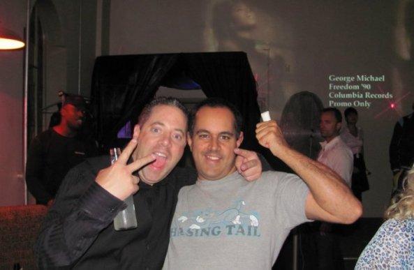 Ravi and DJ Thomas Hall - The Terrible Twosome. ;)