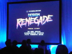 FITC 2012 with James White of SignalNoise