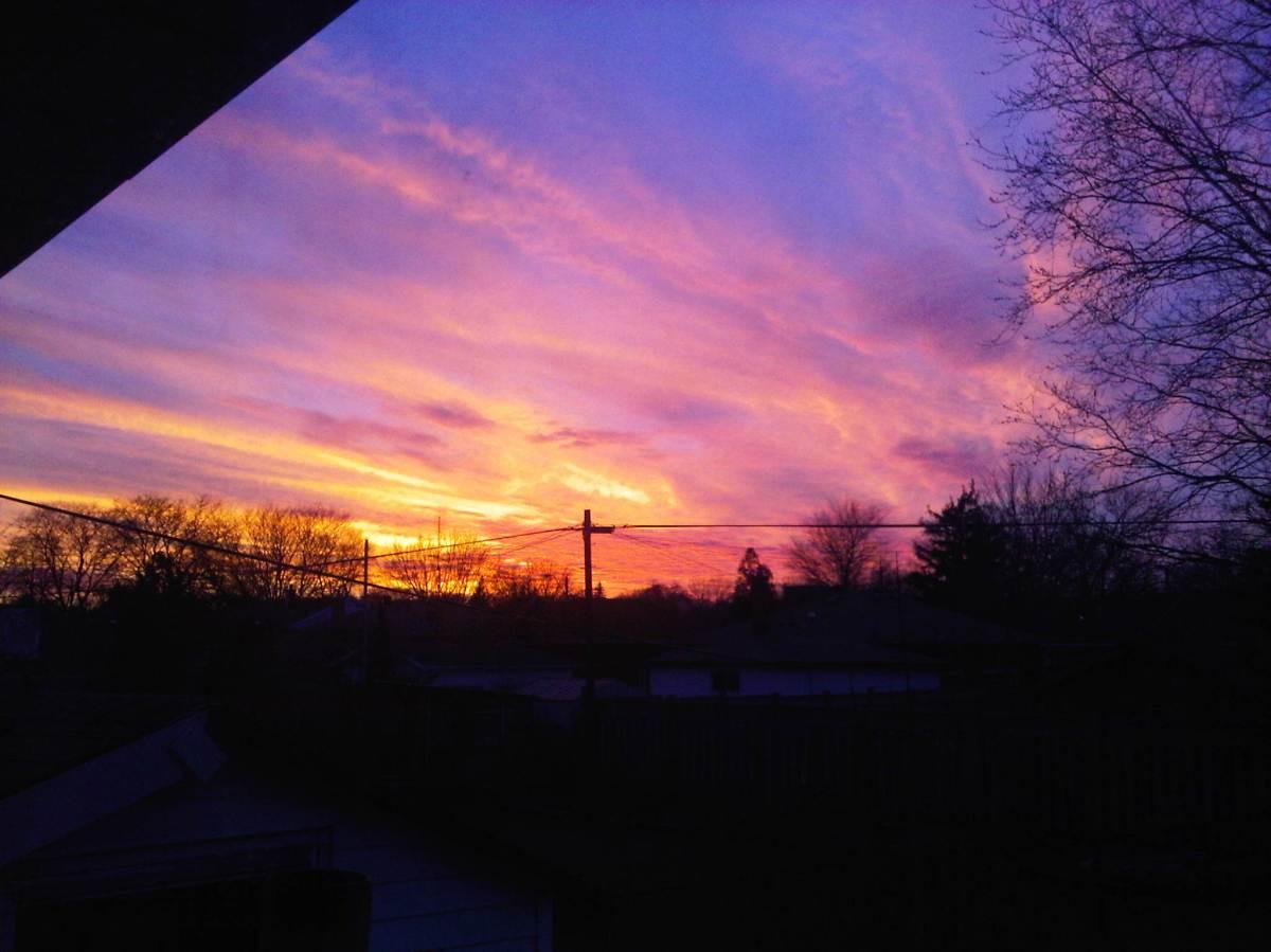 Sunset in Hamilton