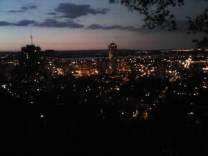 View of Hamilton at Night